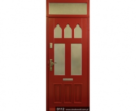 Drzwi frontowe D112