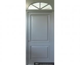 Drzwi frontowe P01