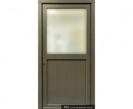 Drzwi frontowe P02