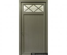 Drzwi frontowe P03