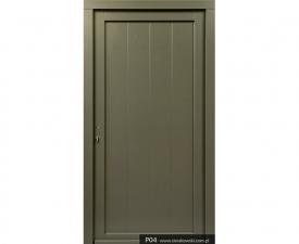 Drzwi frontowe P04