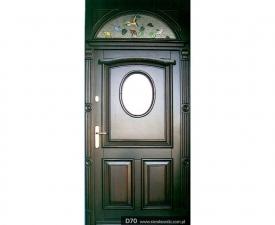 Drzwi frontowe D70