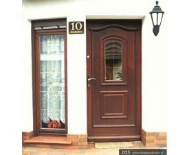 Drzwi frontowe D55