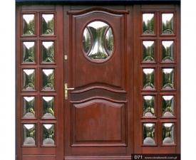 Drzwi frontowe D71