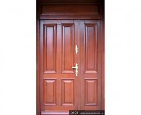 Drzwi frontowe D101