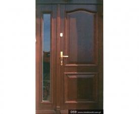 Drzwi frontowe D59
