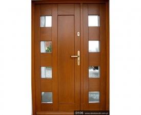 Drzwi frontowe D106