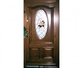 Drzwi frontowe D66