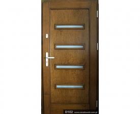 Drzwi frontowe D102
