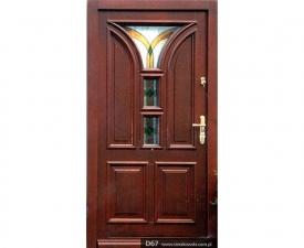 Drzwi frontowe D67
