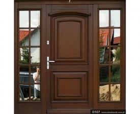 Drzwi frontowe D107
