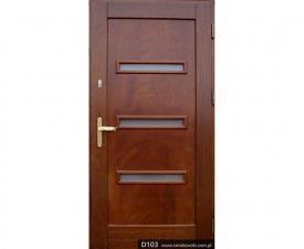 Drzwi frontowe D103