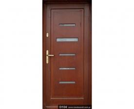 Drzwi frontowe D104