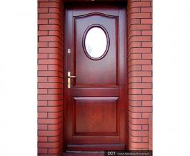 Drzwi frontowe D01