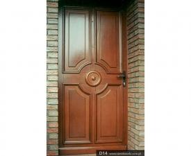 Drzwi frontowe D14