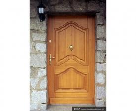 Drzwi frontowe D02