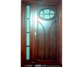 Drzwi frontowe D18