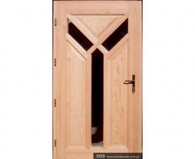 Drzwi frontowe D09